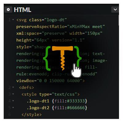 Вставка SVG с ховер-эффектом на страницу Wordpress